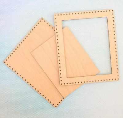 Заготовка для творчества МП Студия ОР-012 Рамка большая прямоугольная (МП Студия)