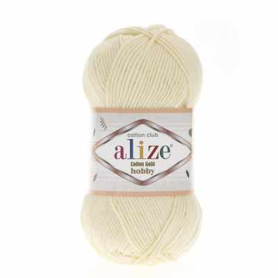 Пряжа Alize Пряжа Alize Cotton Gold Hobby Цвет.01