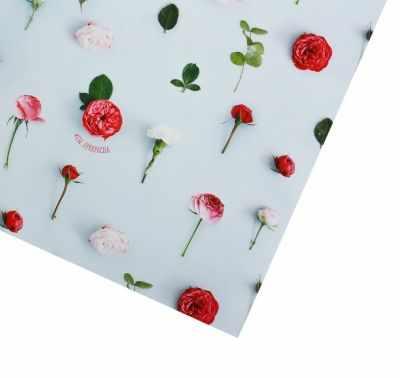 Бумага для упаковки подарков Дарите Счастье 2773558 Бумага упаковочная глянцевая «#Ты_ прекрасна»