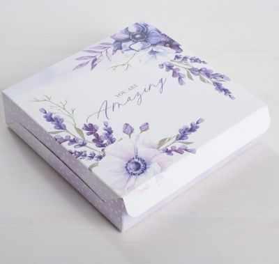 Подарочная коробка Дарите Счастье 4746030 Коробка складная «Для самой замечательной »