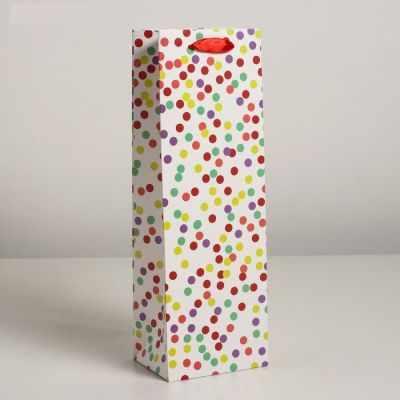 Подарочный конверт - 4638005 Пакет ламинированный под бутылку