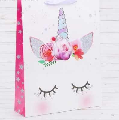Подарочный конверт Дарите Счастье 2726656 Пакет ламинированный вертикальный «Мечтай»