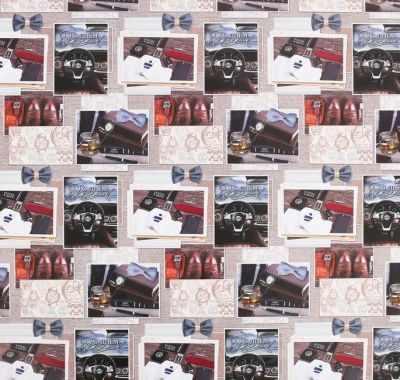 Бумага для упаковки подарков Дарите Счастье 4480120 Бумага глянцевая «Самому сильному»