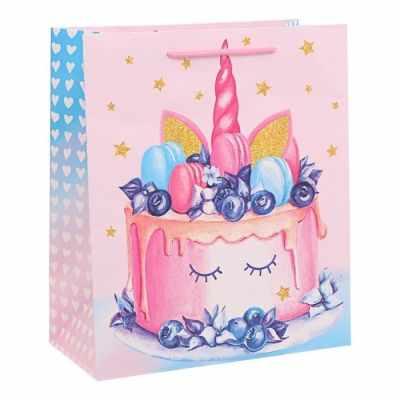 Подарочный конверт Дарите Счастье 2924320 Пакет ламинированный вертикальный Sweet, MS