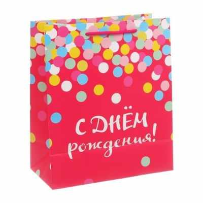 Фото - Подарочный конверт Дарите Счастье 2924314 Пакет ламинированный вертикальный «С ДНЁМ РОЖДЕНИЯ!» подарочный конверт дарите счастье 4515296 пакет ламинированный вертикальный сильному духом
