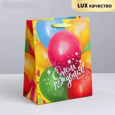 Фото - Подарочный конверт Дарите Счастье 3680607 Пакет ламинированный вертикальный «В твой День Рождения» открытка на каждый день дарите счастье доведи до добра 10 5 х 7 5 см