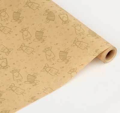 Бумага для упаковки подарков - 2929512 Бумага упаковочная крафт