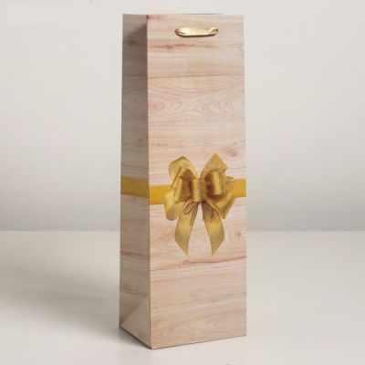 Подарочный конверт - 4638029 Пакет ламинированный под бутылку