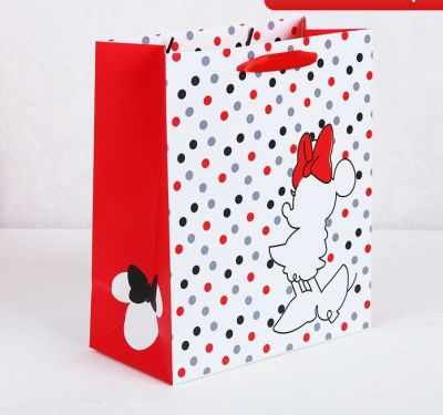 Фото - Подарочный конверт Disney 3908789 Пакет подарочный «Minnie», Минни Маус пакет подарочный новогодние игрушки 23 15 см