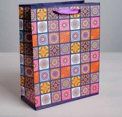 Подарочный конверт Дарите Счастье 2816306 Пакет ламинированный вертикальный «Мозаика»