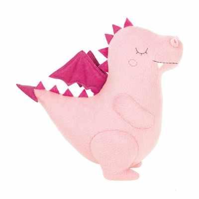 Набор для изготовления игрушки Miadolla PT-0296 Сплюшка Дракон розовый (Miadolla)