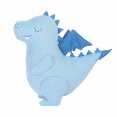 Набор для изготовления игрушки Miadolla PT-0295 Сплюшка Дракон голубой (Miadolla)