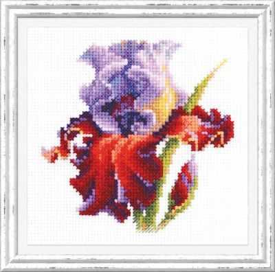 Набор для вышивания Чудесная игла 150-011 Ирис