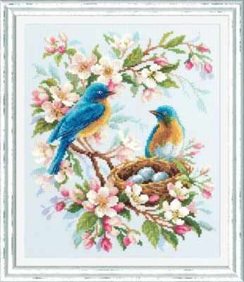 Фото - Набор для вышивания Чудесная игла 130-041 Весенняя песня чудесная планета земля