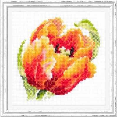 цены Набор для вышивания Чудесная игла 150-010 Красный тюльпан