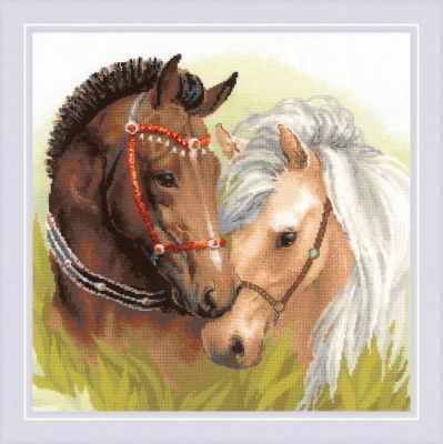 "1864 ""Пара лошадей"""