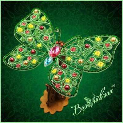 Набор для вышивания Вдохновение BGP-087 Ажурная бабочка