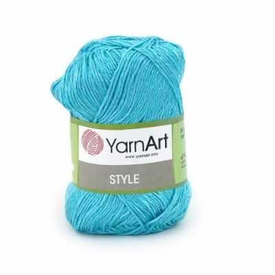Пряжа YarnArt Пряжа YarnArt Style Цвет.673 Бирюза