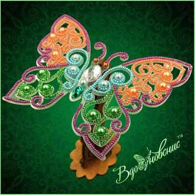 Набор для вышивания Вдохновение BGP-083 Ажурная бабочка