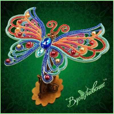 Набор для вышивания Вдохновение BGP-089 Ажурная бабочка