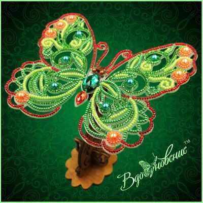 Набор для вышивания Вдохновение BGP-085 Ажурная бабочка