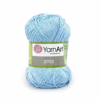 Пряжа YarnArt Пряжа YarnArt Style Цвет.668 Голубой