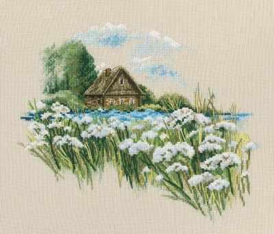 Набор для вышивания РТО M770 Теплый мир цветущего лета