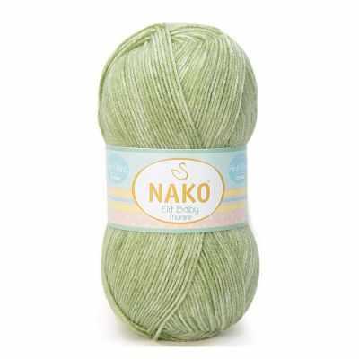 Пряжа Nako Пряжа Nako Elit baby muare Цвет.31702