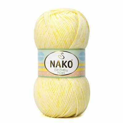 Пряжа Nako Пряжа Nako Elit baby muare Цвет.31866