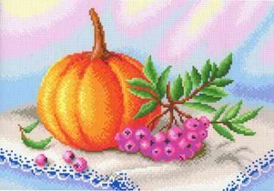 Основа для вышивания с нанесённым рисунком МП Студия СК-082 Осенние дары (МП Студия)