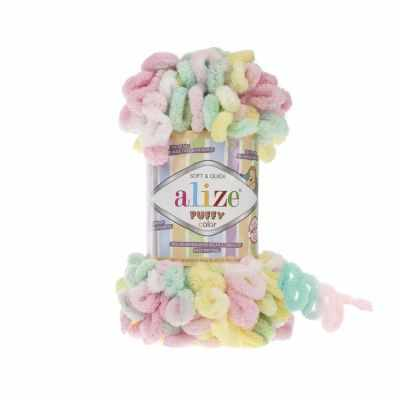 Пряжа Alize Пряжа Alize PUFFY COLOR Цвет.5862