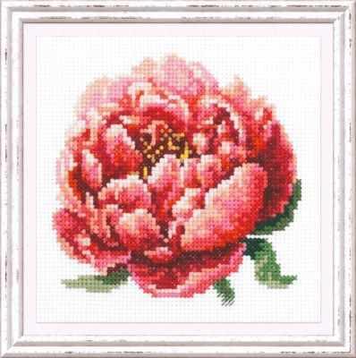 Набор для вышивания Чудесная игла 150-009 Красный пион