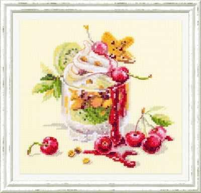 Набор для вышивания Чудесная игла 120-081 Вишневый десерт 1872 романтик чудесная игла чудесная игла