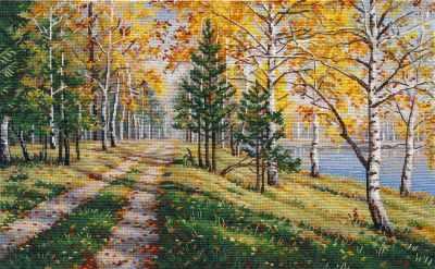 Набор для вышивания Овен 1294 Осенняя пора
