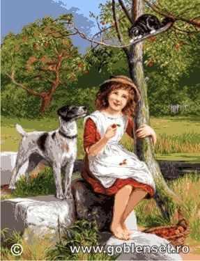 Набор для вышивания Goblenset 1115 La cules de mere