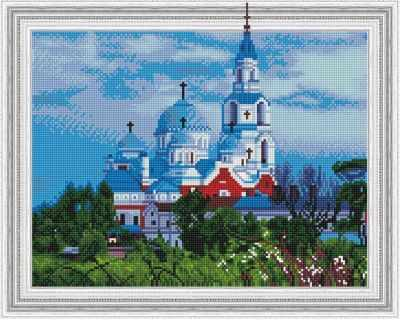 Набор для вышивания Molly Алмазная вышивка KM0188 Валаамский монастырь