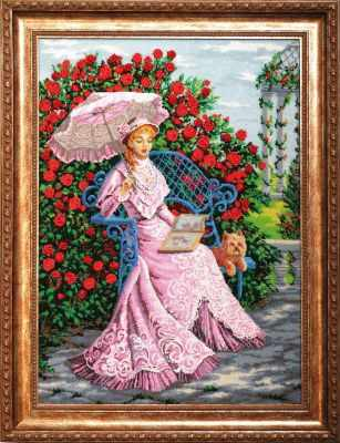 Набор для вышивания Золотые ручки ВВ-002 В розовом саду
