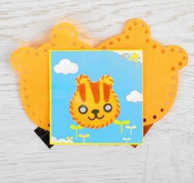 Набор для изготовления изделий из фетра Школа талантов 2793989 Набор для создания игрушки из фетра