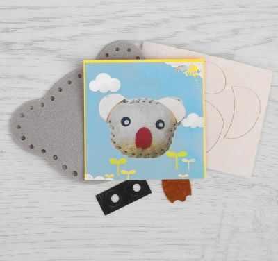 Набор для изготовления изделий из фетра Школа талантов 2793984 Набор для создания игрушки из фетра