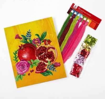 Набор для вышивания Школа талантов 4457139 Вышивка крестиком с пайетками