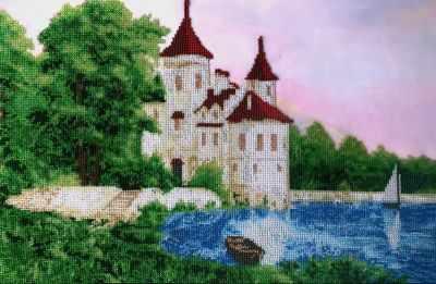 Набор для вышивания FeDi КВ642 Белый замок - набор