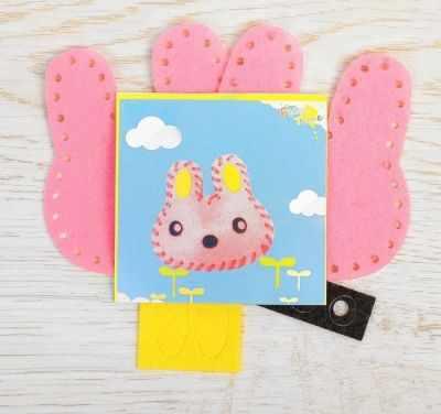 Набор для изготовления изделий из фетра Школа талантов 2793987 Набор для создания игрушки из фетра