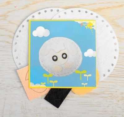 Набор для изготовления изделий из фетра Школа талантов 2793981 Набор для создания игрушки из фетра