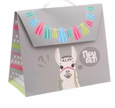 Фото - Подарочный конверт Дарите Счастье 2929714 Пакет подарочный Привет! подарочный конверт дарите счастье 3680769 пакет крафтовый подарочный поздравляю