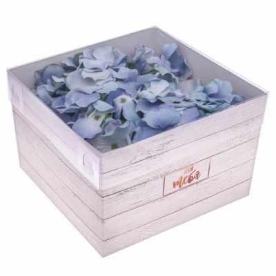 Фото - Подарочная коробка Дарите Счастье 3639713 Коробка для цветов с PVC-крышкой «Для тебя» подарочная коробка дарите счастье 3122698 складная коробка с днем рождения