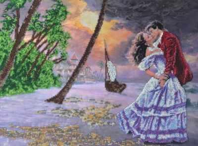 Набор для вышивания FeDi КВ643 Романтика - набор