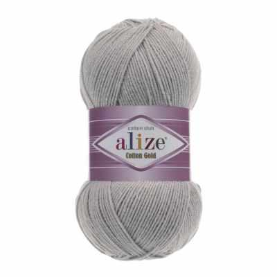 Пряжа Alize Пряжа Alize Cotton Gold Цвет.21 Серый