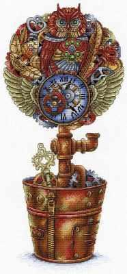 Набор для вышивания МП Студия НВ-719 Топиарий Стимпанк (МП Студия)