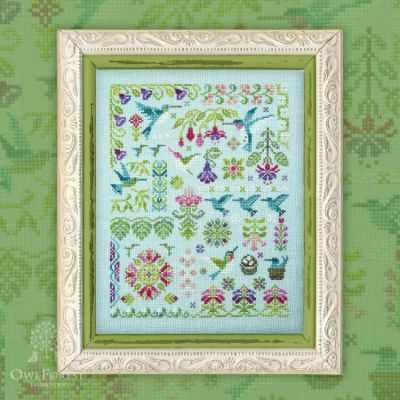Схема для вышивания OwlForest 0079-КЛ-С Колибри