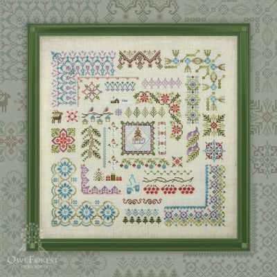 Набор для вышивания OwlForest 0050-33-Н Зимушка-зима